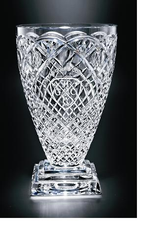 "18""H CUT CRYSTAL VASE--ITEM# 1079S"