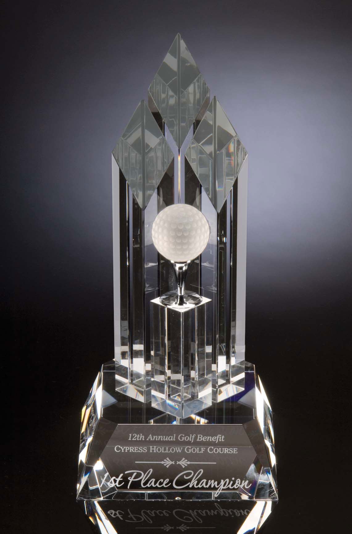 "10"" HIGH OPTIC CRYSTAL--ITEM#1090"