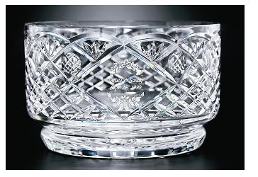 "10""DIA CUT CRYSTAL BOWL--ITEM#1093L"