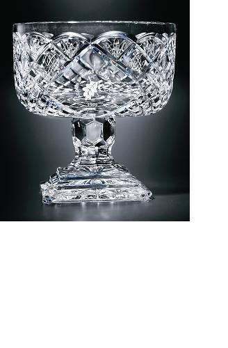 "8 1/2"" DIA X 9""H CUT CRYSTAL BOWL--ITEM#1094L"
