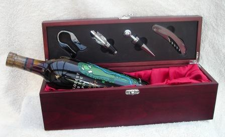 WINE BOX WITH ACCESSORIES--ITEM#1130
