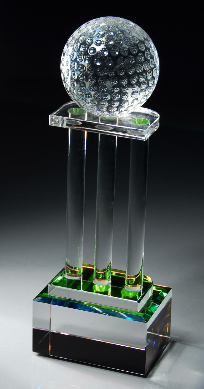 "12""H OPTIC CRYSTAL AWARD--ITEM# 1176"