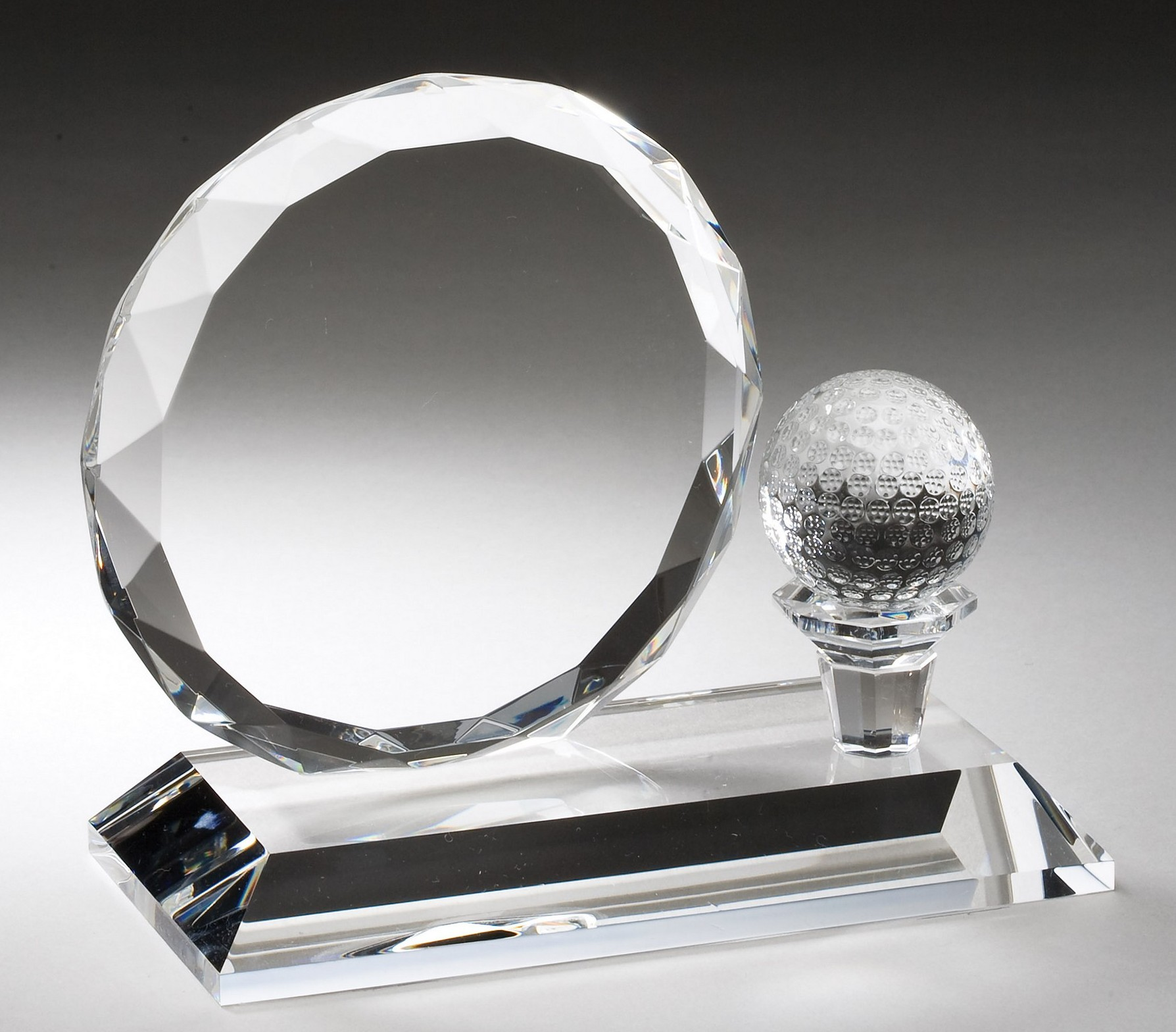 "5""X6"" OPTIC CRYSTAL AWARD--ITEM#1178"