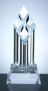 "12"" HIGH 4 DIAMOND AWARD...ITEM#1202"