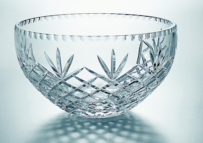 "10"" DIA.CUT CRYSTAL BOWL--ITEM#468"