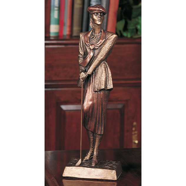 16'HIGH GOLF FEMAL SCULPTURE--ITEM#A3580