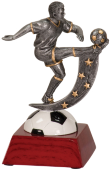 "6 "" ACTION STAR MALE SOCCER-ITEM#107"