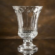 "9"" H CRYSTAL LEXINGTON TROPHY--ITEM#1244L"