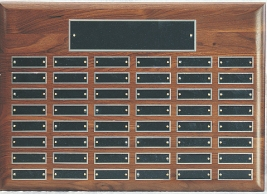 "21""X15"" WALNUT PLAQUE--ITEM#P2115"