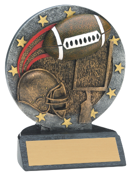 "4 1/2"" ALL STAR FOOTBALL--ITEM#603"