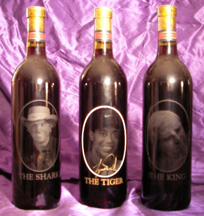 WINE BOTTLES--CUSTOM