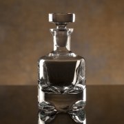 36oz CRYSTAL SCULPTA DECANTER--ITEM#1236M