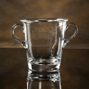 "8""H CRYSTAL CAPTIANS ICE BUCKET--ITEM#1221L"
